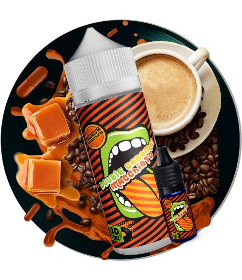 DOUBLE CARAMEL MACHIATTO S&V Aroma-Shot (120/10ml)
