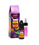 Orange juice - peach - black grape - sweet banana - dragon fruit (OPBSD)